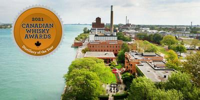 Hiram Walker & Sons Wins Fourth Straight Canadian Distillery of the Year Award (CNW Group/Corby Spirit and Wine Communications)