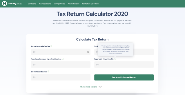Tax time 2020: Where to get an estimate on your tax return