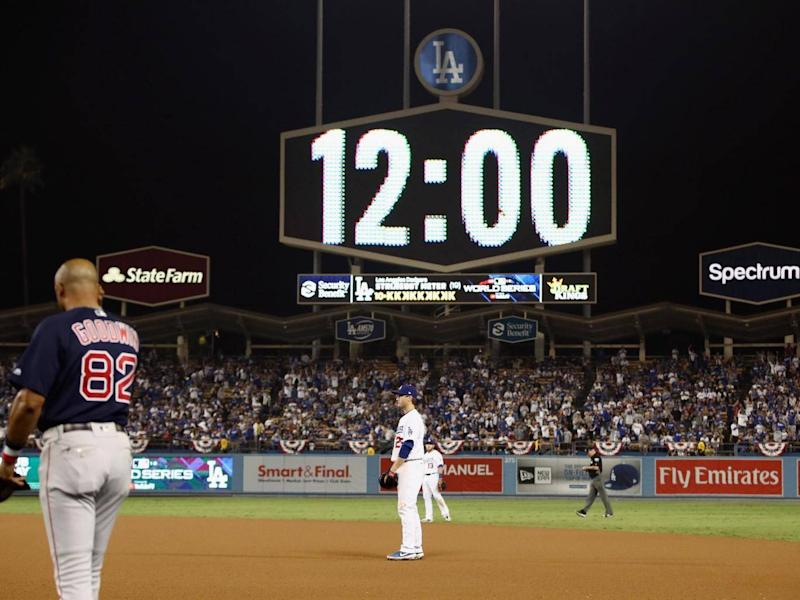 Game 3 of this year's World Series was the longest in history (Getty)