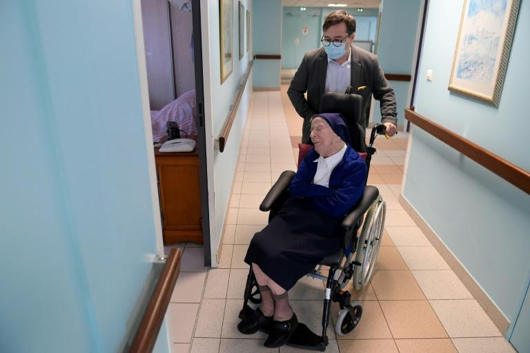 Sister Andre is the second-oldest living person in the world, according to the Gerontology Research Group