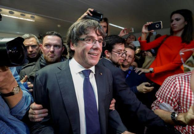 Ousted Catalan leader accepts new election, says 'long road' to independence