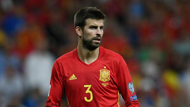 Gerard Pique refuses to quit Spain, despite being targeted by boo boys