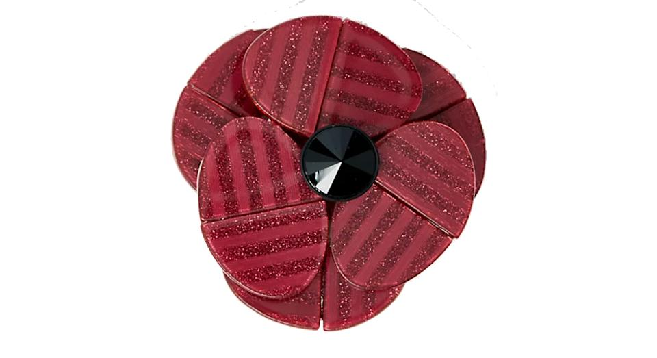 The Poppy Collection Large Resin Poppy Brooch