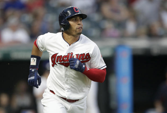 Leonys Martin is recovering after fighting a life-threatening bacteria. (AP Photo/Tony Dejak)
