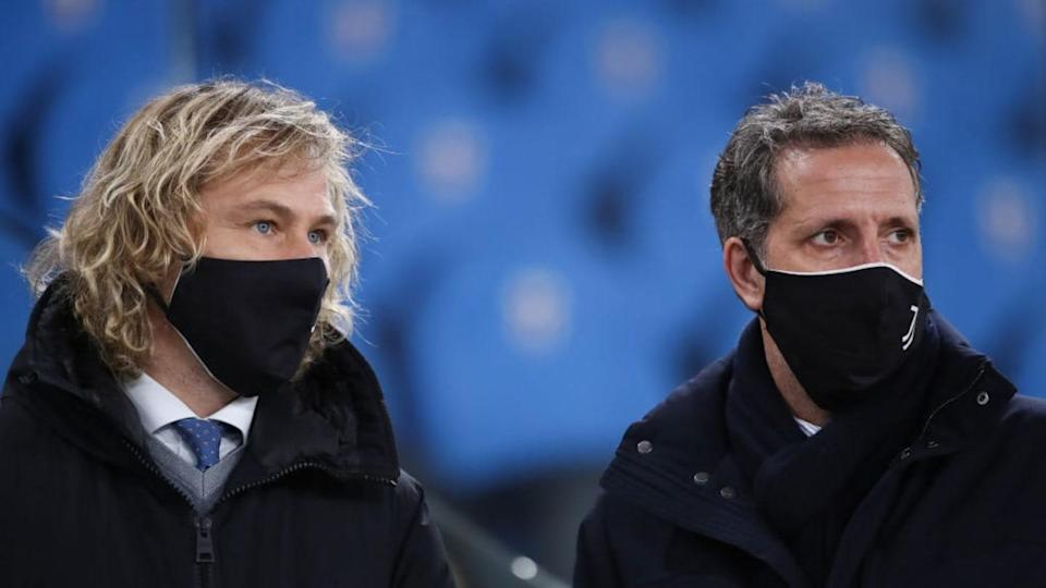 Nedved e Paratici   Jonathan Moscrop/Getty Images