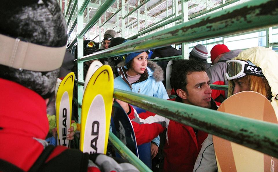 iran ski lift - kaveh kazemi/getty images