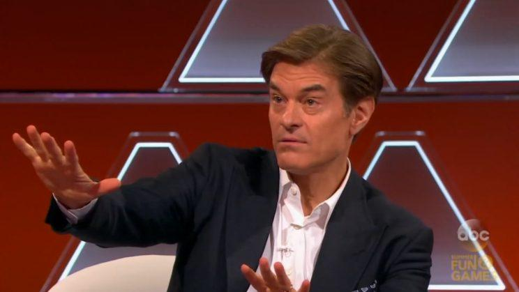 Dr. Oz on $100,000 Pyramid