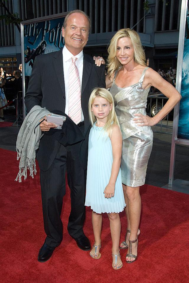 """<a href=""""http://movies.yahoo.com/movie/contributor/1800020246"""">Kelsey Grammer</a> and family at the New York premiere of <a href=""""http://movies.yahoo.com/movie/1809791044/info"""">Harry Potter and the Half-Blood Prince</a> - 07/09/2009"""
