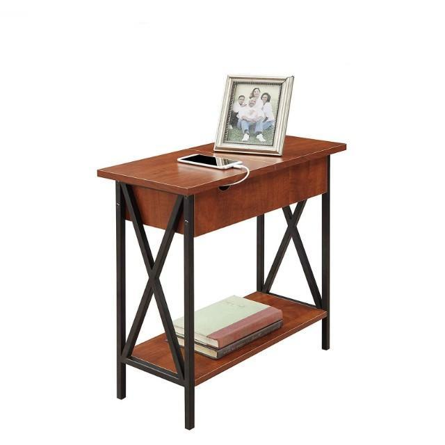 Convenience Concepts Tucson Flip Top End Table
