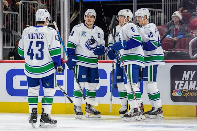 Are the Canucks the team to beat in the Pacific Division?