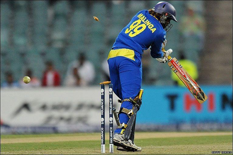 Lasith Malinga is third on this list, with 43 ducks against his name (Pic courtesy Getty Images)