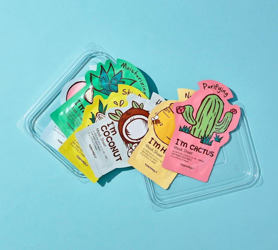 <p>If they love a good sheet mask, they'll love the <span>Tony Moly SuperFood Bowl Mask Set</span> ($16).</p>