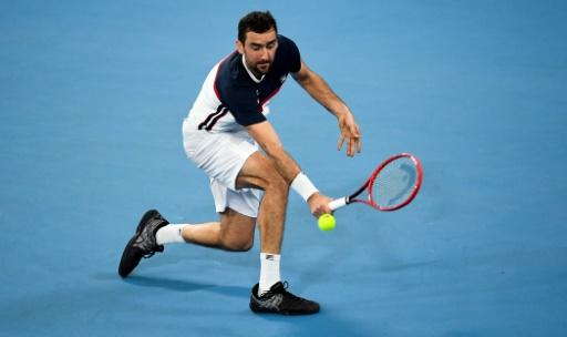 Marin Cilic of Croatia beat Kacper Zuk of Poland to put his team in a strong position