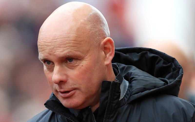 Steve Agnew is in interim charge at Middlesbrough following Aitor Karanka's dismissal  - PA Wire