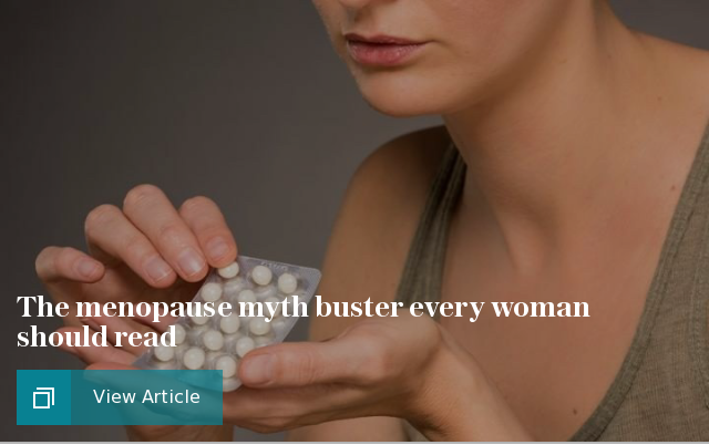 The menopause myth buster every woman should read