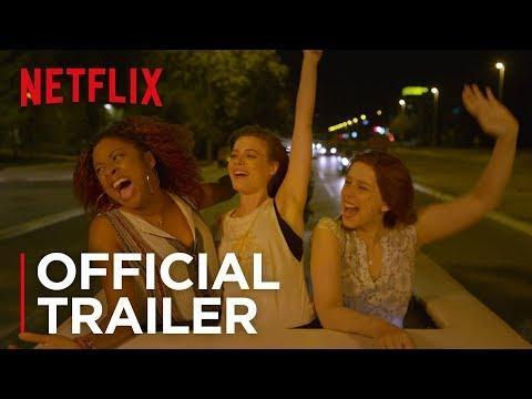 "<p>Harper (Gillian Jacobs) makes the wonderful mistake of taking her girlfriends on a work trip to Barcelona, and shit gets out of control. Also starring Richard Madden as... a DJ? </p><p><a class=""link rapid-noclick-resp"" href=""https://www.netflix.com/watch/80195049"" rel=""nofollow noopener"" target=""_blank"" data-ylk=""slk:Stream Now"">Stream Now</a></p><p><a href=""https://www.youtube.com/watch?v=Aw27eMJH3H4"" rel=""nofollow noopener"" target=""_blank"" data-ylk=""slk:See the original post on Youtube"" class=""link rapid-noclick-resp"">See the original post on Youtube</a></p>"