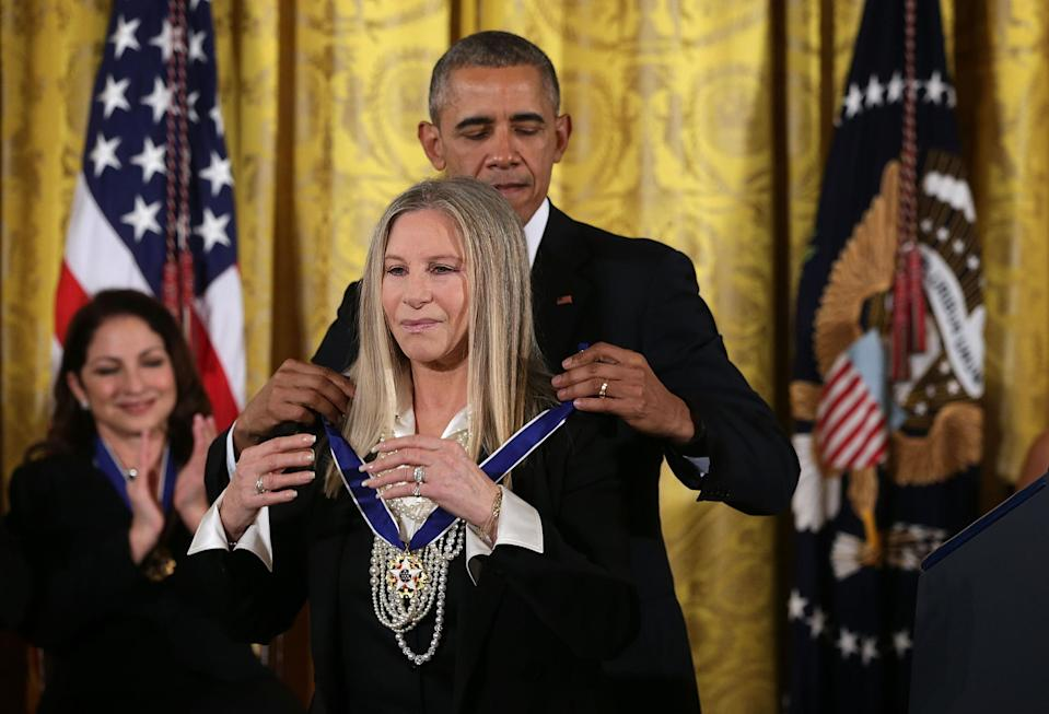 President Obama Presents The Presidential Medal Of Freedom Awards (Alex Wong / Getty Images)