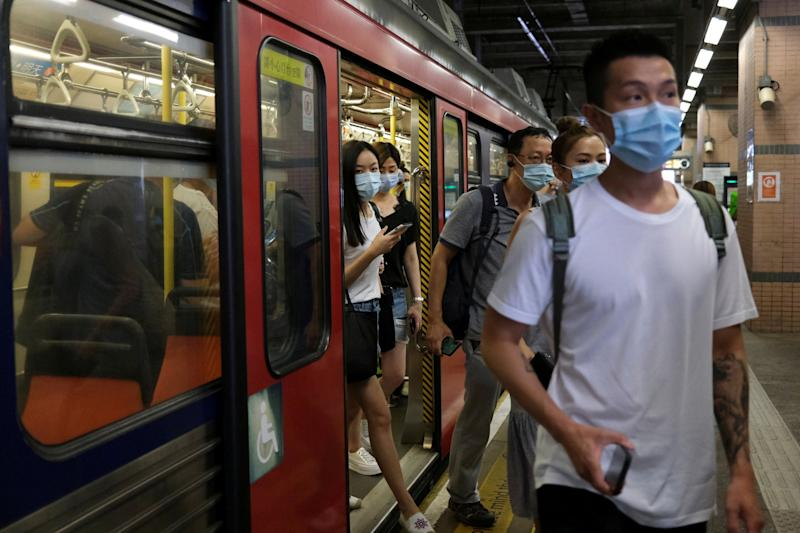 Hong Kong introduced tougher measures to prevent the spread of coronavirus last week including the mandatory use of masks in both indoor and outdoor public spaces, as it tries to bring its outbreak back under control: REUTERS