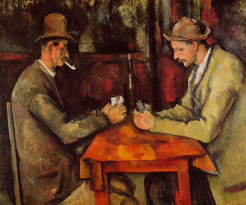 <p>4. The Card Players – Paul Cézanne (1892/1893). Sold for: £210.9m. A series of oil paintings, the Royal Family of Qatar bought one in 2011 in a private sale. (Pic: Wiki Commons) </p>