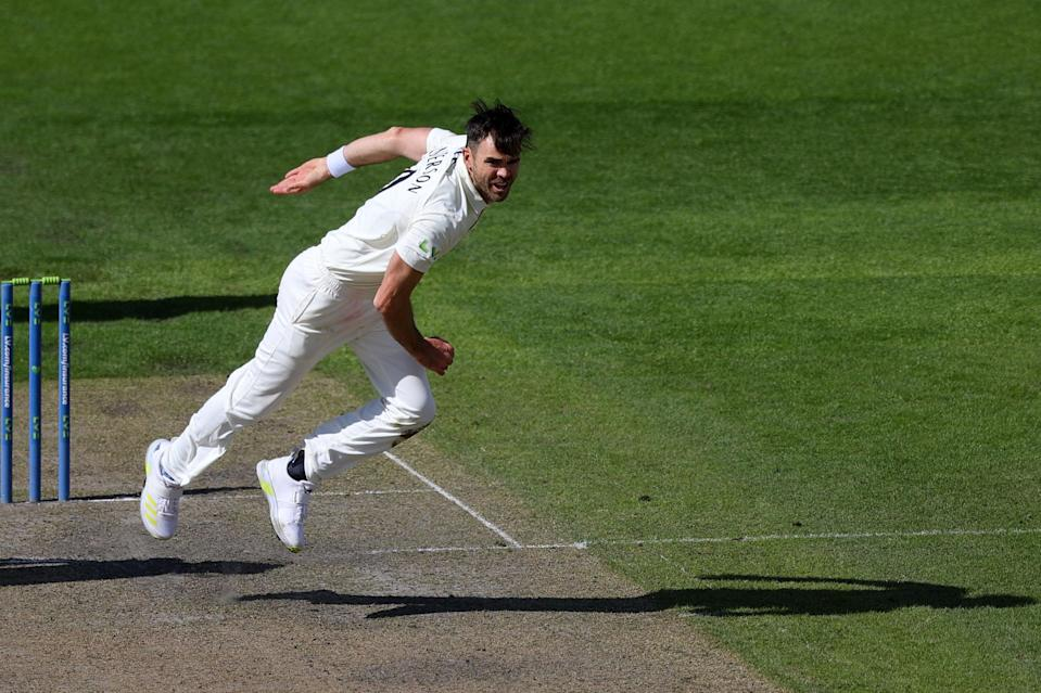 Jimmy Anderson has reached 1,000 first-class wickets for Lancashire and England (Getty Images)