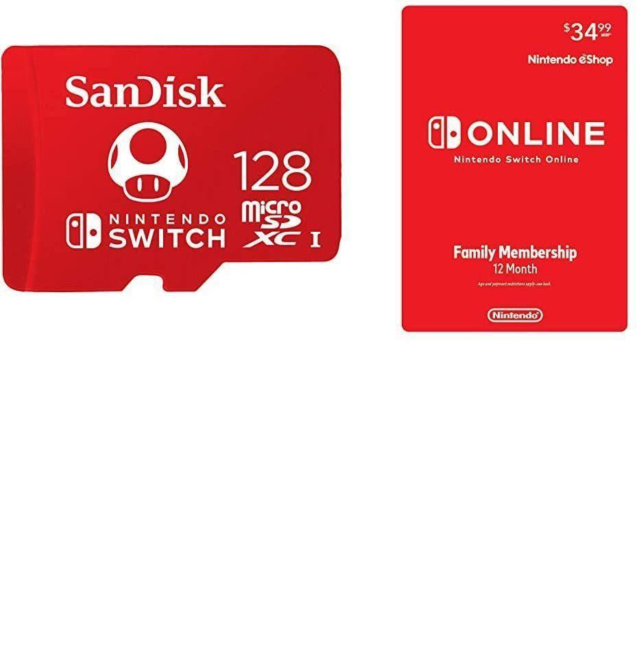 """<p><strong>SanDisk</strong></p><p>amazon.com</p><p><strong>$39.99</strong></p><p><a href=""""https://www.amazon.com/dp/B08BT4MTZS?tag=syn-yahoo-20&ascsubtag=%5Bartid%7C10054.g.34313481%5Bsrc%7Cyahoo-us"""" rel=""""nofollow noopener"""" target=""""_blank"""" data-ylk=""""slk:Buy"""" class=""""link rapid-noclick-resp"""">Buy</a></p><p><strong><del>$69.98</del></strong></p><p>That's a lot space to save up games and a lot of membership to get access to loads of more.</p>"""
