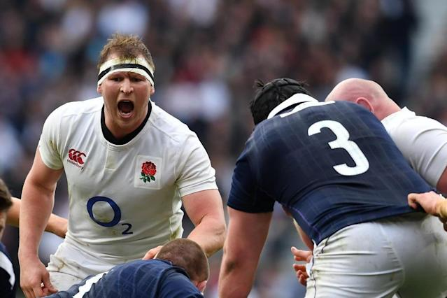 Should Dylan Hartley's pre-match talk hit too hard, someone could get sin-binned early on: Ben Stansall/AFP/Getty Images