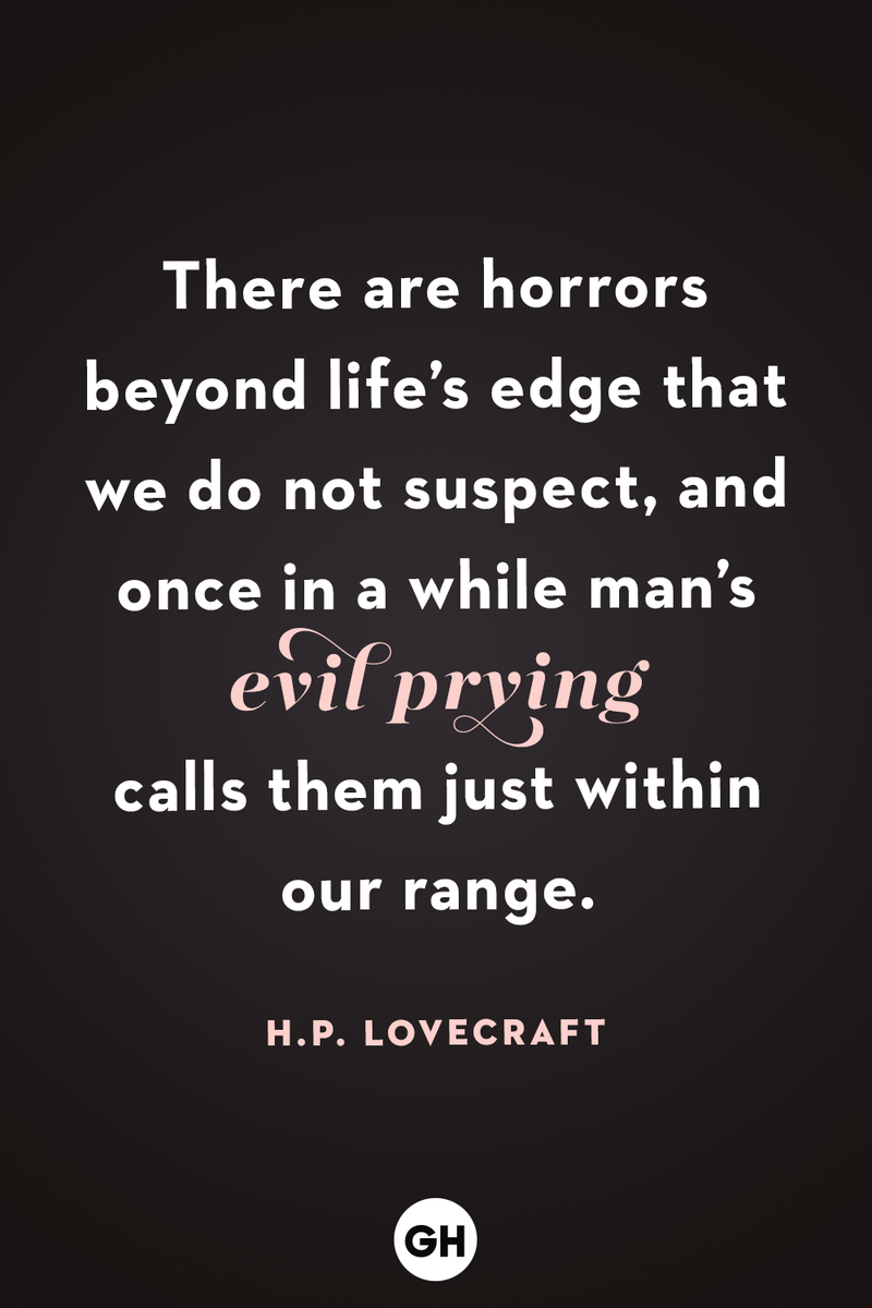 <p>There are horrors beyond life's edge that we do not suspect, and once in a while man's evil prying calls them just within our range.</p>