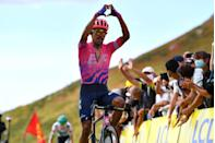 <p><strong>Who's Winning the Tour?</strong></p><p>The Tour's third summit finish held plenty of action as EF Pro Cycling's Daniel Martinez emerged from the day's big breakaway—big as in both that it went early in the 191.5km stage and was large in number—for a solo win atop the Pas de Peyrol, outdueling the BORA-Hansgrohe tandem of Lennard Kämna and Maximilian Schachmann to confirm that his August Criterium du Dauphiné victory was no fluke. Behind, another head-to-head battle was taking place between INEOS Grenadiers and Jumbo-Visma, the two heavyweight teams in the race. Jumbo clearly got the upper hand, as yellow jersey Primož Roglič held his grip on the race lead by matching pace with young attacker (and fellow Slovenian) Tadej Pogačar of UAE-Team Emirates.</p><p><strong>Who's <em>Really</em> Winning the Tour?</strong></p><p>Lots of upheaval in the top 10 on a steep finish. It's impossible to say how deep Roglič dug to defend his yellow jersey, as he was carefully poker-faced for much of the climb. Similarly, Pogačar seemed as comfortable as you can be riding near your anaerobic threshold on 12 percent gradients. That wasn't the case for INEOS and defending Tour champ Egan Bernal. In a move that will doubtless be dissected for its wisdom, INEOS pushed the pace on the penultimate climb of the day and succeeded mostly in burning off their own teammates as the group dwindled to less than 15 riders. Isolated, Bernal didn't have much help when the inevitable accelerations began and couldn't stay with the Roglič/Pogačar pair. </p><p>Also in trouble were the French hopefuls Guillaume Martin (Cofidis) and Romain Bardet (Ag2r la Mondiale), the latter of whom was caught in a bad crash roughly mid-stage. But besides Roglič, no one could quite match Pogačar's furious pace in the lead group, as other riders lost between 13 and 40 seconds at the finish. Pogačar jumped five spots to second overall, :44 down to Roglič, but the GC is starting to stretch out, with Bernal :59 down,