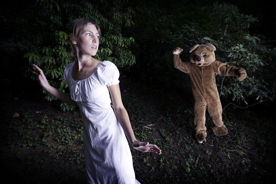 """<p>It doesn't get much scarier than a nightmare about being chased by someone, or worse, some<em>thing</em>. If you dream about chasing a version of yourself, it might signify that you're unhappy with some part of yourself that needs to be addressed. Being chased by someone you know might mean that you're avoiding something or someone in your life. Being chased by an animal could mean that there's some unresolved anger inside of you that you've been trying to suppress. If you're the one doing the chasing, it can mean <a href=""""https://www.learning-mind.com/dreams-about-being-chased/"""" rel=""""nofollow noopener"""" target=""""_blank"""" data-ylk=""""slk:something totally different"""" class=""""link rapid-noclick-resp"""">something totally different</a>.</p>"""