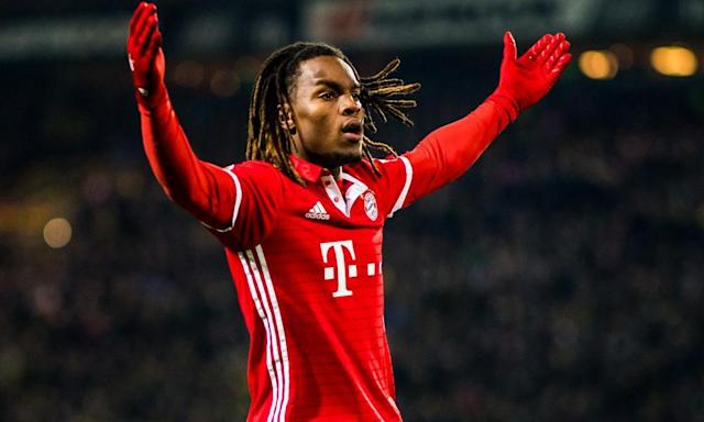 """<span class=""""element-image__caption"""">Renato Sanches looked like something genuinely precious at the Euros but his career at Bayern has somewhat stalled.</span> <span class=""""element-image__credit"""">Photograph: Lukas Schulze/Bundesliga/DFL via Getty Images</span>"""