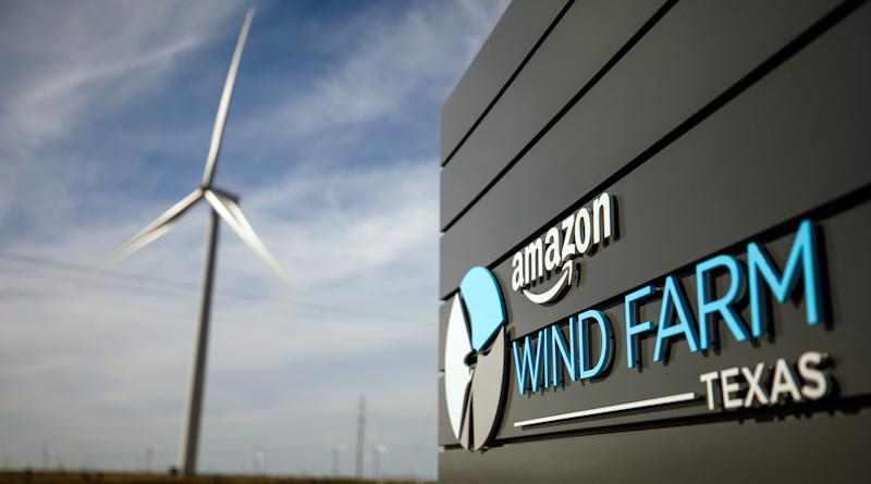 Amazon wind farm in Texas