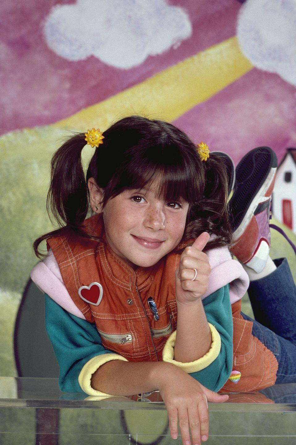 <p>When she was eight-years-old, Soleil Moon Frye was cast as <em>Punky Brewster, </em>a role that put her on the map as a child star. In 1989, she went on to host a weekly talk show called <em>Girl Talk, </em>based on the popular board game.</p>
