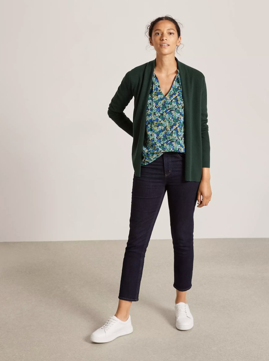 Women are buying multiple of this affordable cardigan. (John Lewis & Partners)