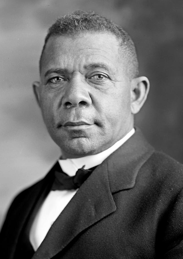 <p>An educator and well-known businessman in the African-American community, and adviser to many American presidents, Washington is one of the most celebrated of the alumni of Hampton University. He went on to found another HBCU, Tuskegee University. (Photo: Wiki) </p>