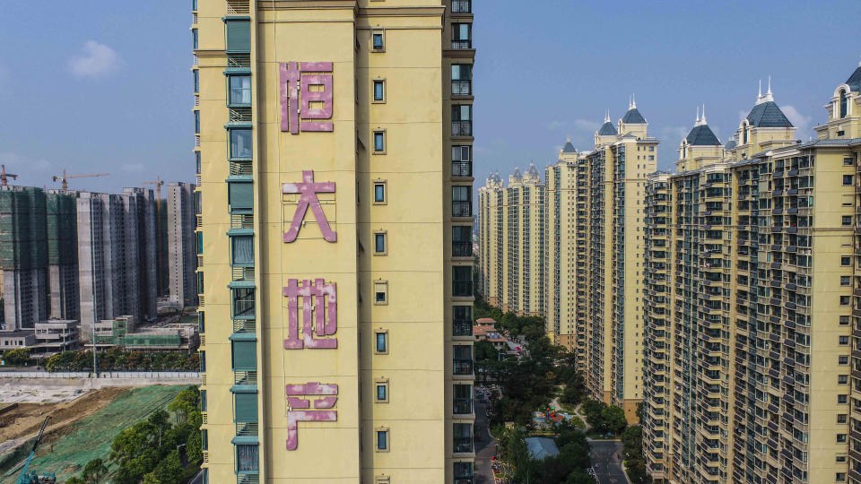 European stocks follow Asia lower on property market jitters. Photo: STR / AFP/ China OUT (Photo by STR/AFP via Getty Images)