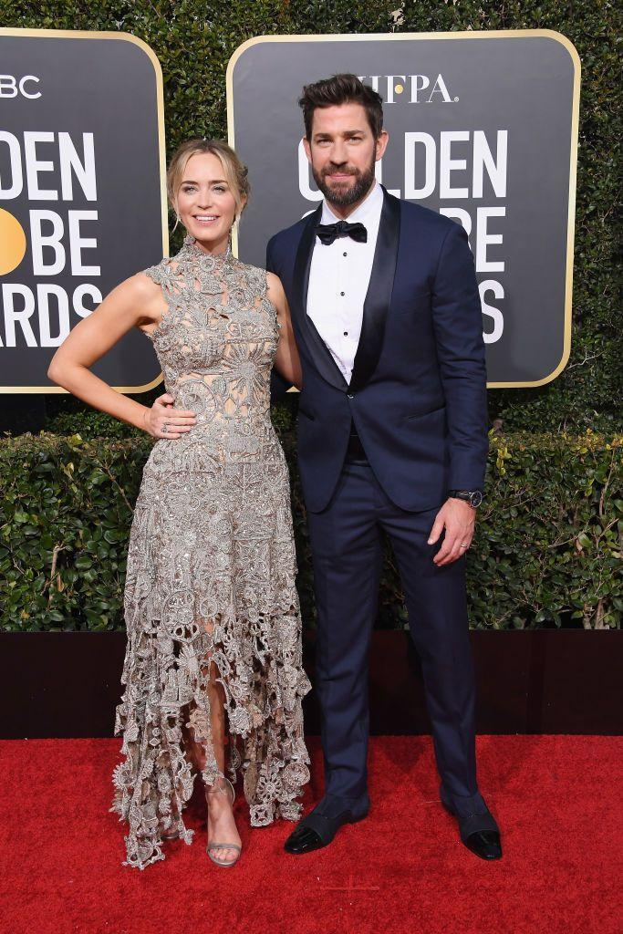 """<p><a href=""""https://www.elle.com/uk/life-and-culture/culture/a29649034/john-krasinski-emily-blunt-marriage-secret/"""" rel=""""nofollow noopener"""" target=""""_blank"""" data-ylk=""""slk:The couple - who most recently have worked together on A Quiet Place 2 - married in Italy in 20"""" class=""""link rapid-noclick-resp"""">The couple - who most recently have worked together on A Quiet Place 2 - married in Italy in 20</a>10. The parents of two will celebrate their 10 year wedding anniversary this summer.</p>"""
