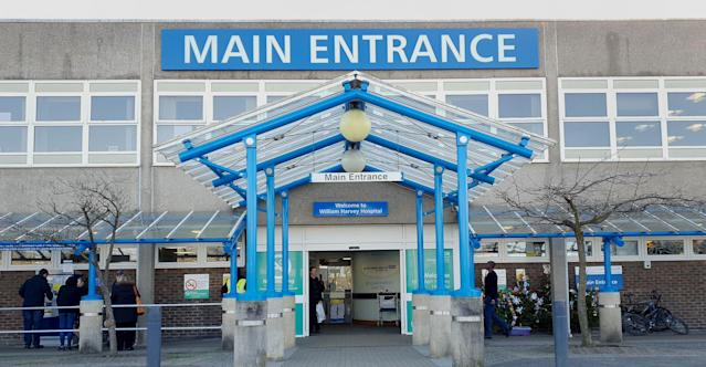 Dominic was rushed to the William Harvey Hospital in Ashford, Kent on July 28, where he died later that evening (PA)