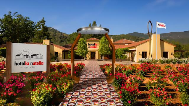 The hotel is in Napa Valley, California. [Photo: Nutella]
