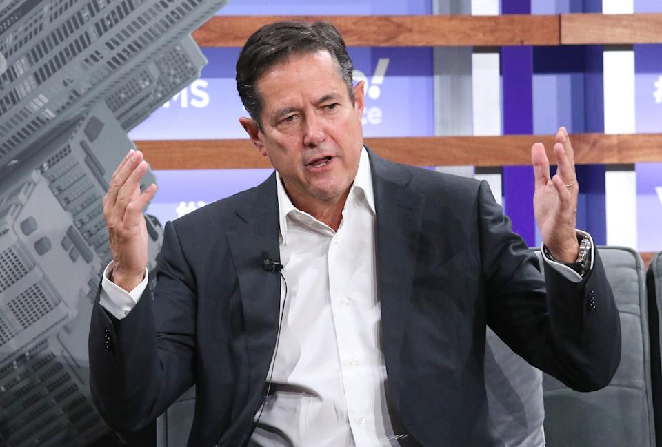 Chief executive of Barclays Jes Staley attends the Yahoo Finance All Markets Summit at Union West Events on 10 October 2019 in New York City. Photo: Jim Spellman/Getty Images