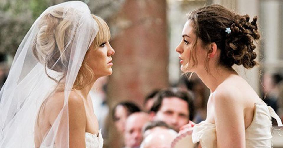 Bride Wars (2009) starring Anne Hathaway and Kate Hudson. Photo: 20th Century Fox.