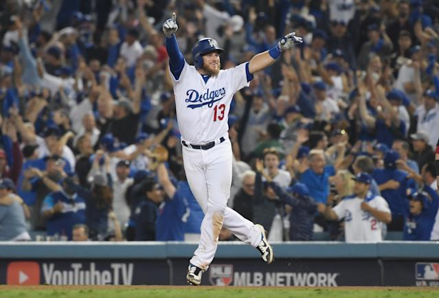 The Dodgers will be one of five Los Angeles professional sports teams playing on Sunday. (Getty)