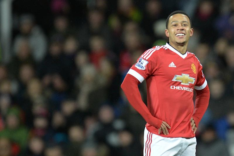 Dutch forward Memphis Depay struggled to impress at Manchester United (AFP Photo/OLI SCARFF                          )