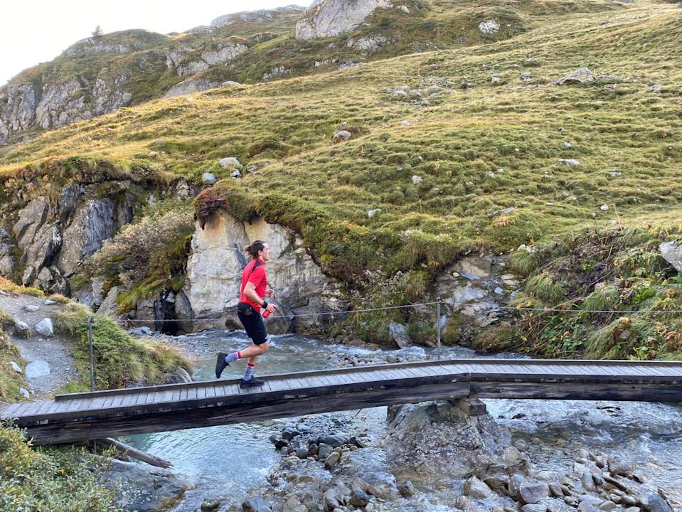 Trail running can be the best way to experience Verbier's peaks and troughs (Damien Gabet)