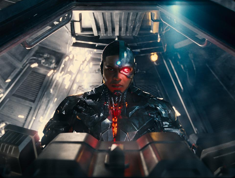 Ray Fisher's Cyborg plays a more central role in Zack Snyder's Justice League (Warner Bros)