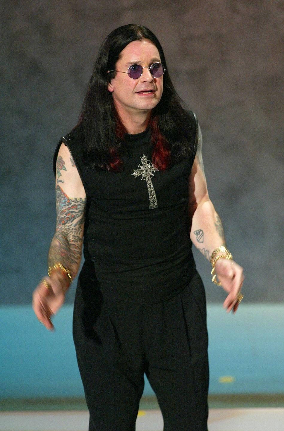 "<p>Osbourne crashed an ATV in 2003. He fractured his collarbone, multiple ribs, and fell into a coma for a few days. He shared his story in his memoir <em><a href=""https://www.amazon.com/I-Am-Ozzy-Osbourne/dp/0446569909?tag=syn-yahoo-20&ascsubtag=%5Bartid%7C2141.g.36311064%5Bsrc%7Cyahoo-us"" rel=""nofollow noopener"" target=""_blank"" data-ylk=""slk:I Am Ozzy"" class=""link rapid-noclick-resp"">I Am Ozzy</a>:</em> ""I didn't know where I was or how long I'd been there. I would drift in and out of consciousness. Other times there would be a white light shining through the darkness, but no f*cking angels, no one blowing trumpets, and no man in a white beard.""</p>"