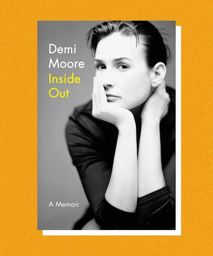 """It was the aughts: low rise jeans and trucker hats were in, the Motorola Razr was the hottest digital accessory, and Demi Moore was back in the spotlight, starring in the sequel to <em>Charlie's Angels</em>. After an amicable divorce from Bruce Willis, Demi was 41 when she met a 25-year-old Ashton Kutcher. They married two years later. <br><br>In her memoir, <em>Inside Out</em>, Demi doesn't hold back about the troubles in her relationship with Kutcher, who had multiple affairs, belittled Demi's many years of sobriety, and was distant as she suffered a series of fertility setbacks. They divorced in 2011. In the memoir, co-written by <a href=""""https://www.newyorker.com/magazine/2013/11/18/thanksgiving-in-mongolia"""" rel=""""nofollow noopener"""" target=""""_blank"""" data-ylk=""""slk:Ariel Levy"""" class=""""link rapid-noclick-resp"""">Ariel Levy</a>, Moore contextualizes her own role in the toxic romance, explaining that in the end, it helped her grow and reconnect with her family."""
