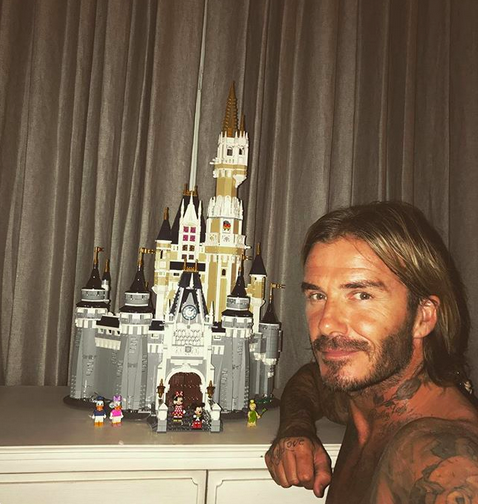 "<p>He did it! Days after taking on this Lego Disney princess castle, the superstar dad showed off the finished product. ""1AM done,"" he wrote. ""Someone's gonna have a nice surprise in the morning."" Swoon! (Photo: <a href=""https://www.instagram.com/p/BXzpgHPhki9/?taken-by=davidbeckham"" rel=""nofollow noopener"" target=""_blank"" data-ylk=""slk:David Beckham via Instagram"" class=""link rapid-noclick-resp"">David Beckham via Instagram</a>) </p>"