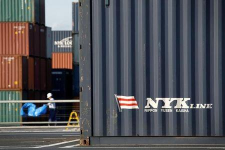 Japan shippers plan container operations merger to survive