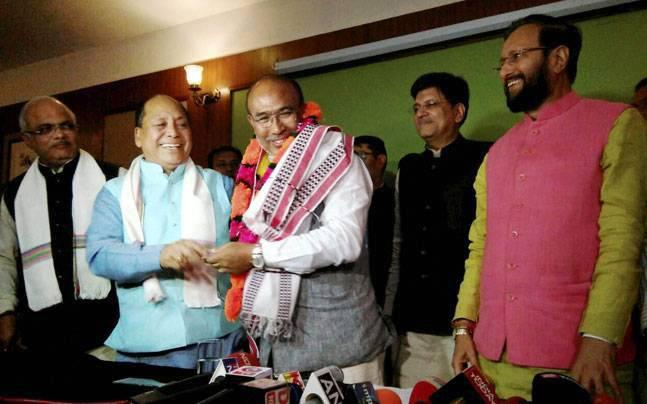 BJP leader Biren Singh sworn in as Manipur Chief Minister