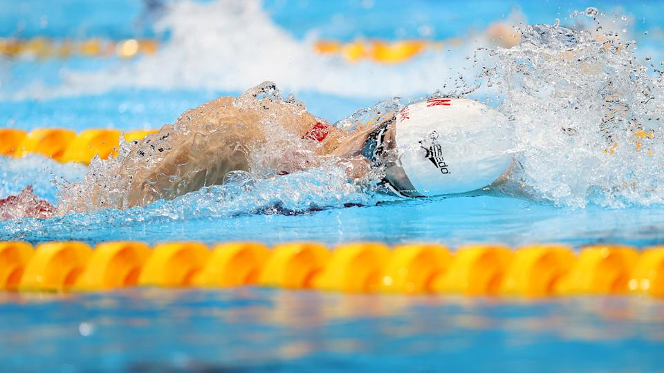 Penny Oleksiak is now Canda's most decorated summer Olympian. (Photo by Ian MacNicol/Getty Images)